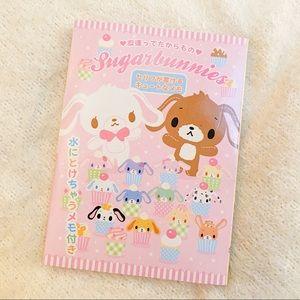 Vintage Sanrio Sugarbunnies pink notebook adorable